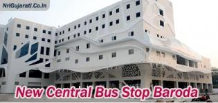 New Bus Stand in Vadodara - GSRTC Baroda ST Bus Depot / Central Bus Stop Images