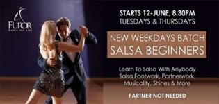 New Salsa Beginners Weekdays Batch - Salsa Dance Form Learning Session in Ahmedabad