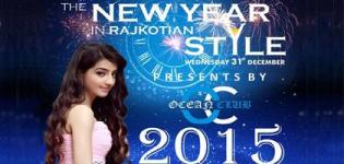 New Year Celebration 2015 in Rajkotian Style by Ocean Club in Rajkot The Garden Dinner Club