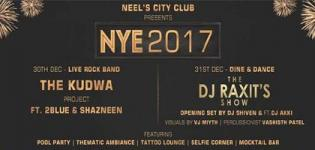 New Year Eve 2017 by Neels City Club in Rajkot on 30 & 31 December 2016