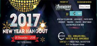 New Year Hangout 2017 Party at Encore Discotheque in Ahmedabad on 31 December