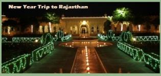 New Year Trip to Rajasthan - Holiday Packages for 31st Eve Celebration in Rajasthan India