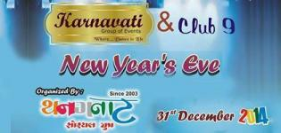 New Years Eve Party 2015 by Karnavati Group of Events and Club 9 in Rajkot at Ashirvad Party Plot