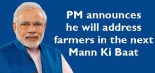 Next 'Mann Ki Baat' will be for Indian Farmers said PM Narendra Modi - March 2015
