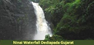 Ninai Waterfall Sagai Village Dediapada - Location and Photos of Ninai Falls Gujarat