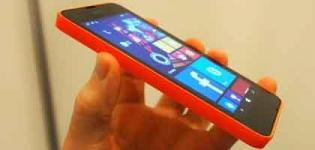 Nokia Lumia 630 Smartphone Launch in India - Price Features and Full Specification