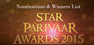 Nominations & Winners List of Star Parivaar Awards 2015 - Best Lead Role Winners in TV Serials