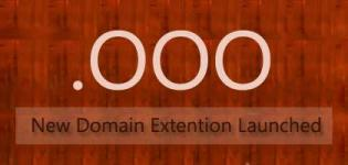 .OOO - New General/Generic Domain Extension launched by Ahmedabad based Infibeam.com
