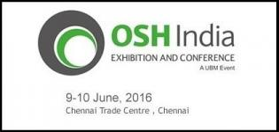 OSH India Expo Chennai - Occupational Safety & Health India 2016 at Chennai Exhibition Centre