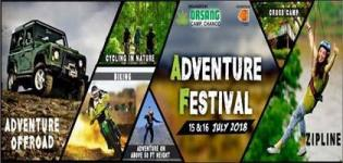 Offroad Adventure at Adventure Festival by Orsang Camp arrange in Vadodara