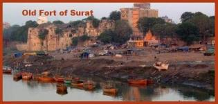 Surat Castle in Gujarat India - Address History of Old Fort in Surat