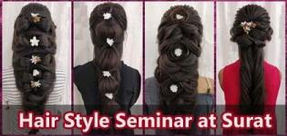 One Day Hair Style Seminar 2018 by Hair Style Artist arrange for all People in Surat
