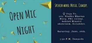 Open Mic Night Event of 2018 Arrange by The Artist's Brewery in Ahmedabad