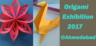 Origami Exhibition cum Sale 2017 in Ahmedabad at Indian Origami Club