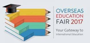 Overseas Education Fair 2017 in Rajkot at Hotel Grand Regency