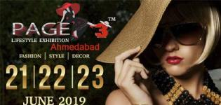 PAGE 3 Lifestyle Exhibition 2019 in Ahmedabad at Rajpath Club