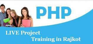 PHP Training in Rajkot Companies - Best LIVE Project Training Center in Rajkot