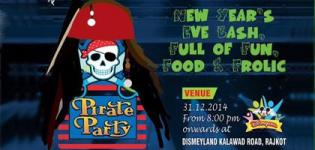 PIRATE PARTY New Year Eve 2015 at Disneyland Rajkot by RCC Royale Cultural Group and DreamsPro