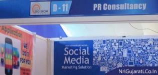 PR Consultancy Stall at THE BIG SHOW RAJKOT 2014