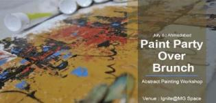 Paint Party Over Brunch 2018 for the Very First Time arrange in Ahmedabad City