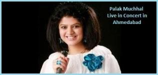 Palak Muchhal Live in Concert in Ahmedabad Gujarat on 14 December 2014
