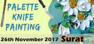 Palette Knife Painting Event Date and Venue Details in Surat 2017