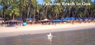 Palolem Beach in South Goa India - Information - Attraction - Details - Photos