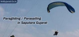 Paragliding in Saputara Gujarat  Parasailing Price Cost during Festival Activities at Saputara