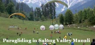 Paragliding in Solang Valley Manali - Paragliding in Solang Valley Price Cost Rates Photos Details