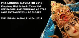 Parajiya Pattani Associations London (PPA) Navratri 2015 at Kingsbury High School London