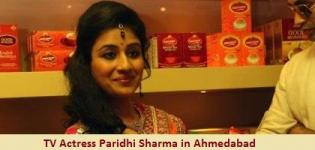 Jodha Akbar TV Serial fame Actress Paridhi Sharma in Ahmedabad Gujarat