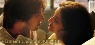 Parineeti Chopra Hot Photos in KILL DIL Movie 2014 - Spicy Images of Latest Kissing Scenes