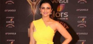 Parineeti Chopra in Yellow Evening Gown at Stardust Awards 2015 - Latest Photos