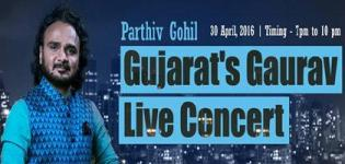 Parthiv Gohil Live Show 2016 in Ahmedabad at Club O7 on 30th April