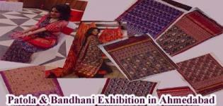 Patola and Bandhani Exhibition Traditional Saree for All Women in Ahmedabad
