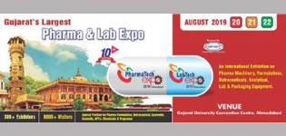 PharmaTech and Lab Expo 2019 in Ahmedabad at Gujarat University Convention Centre