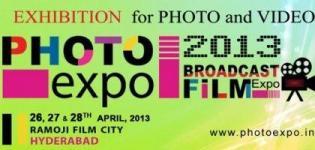 Photo Expo 2013 India - Photo Expo 2013 Hyderabad at Ramoji Film City