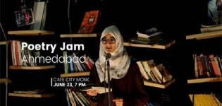 Poetry Jam - An Event of Poetry Arrange for Every People in Ahmedabad City