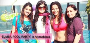 Pool Party in Ahmedabad Photos - ZUMBA POOL PARTY 2014 at Eastin Hotel - Latest Images