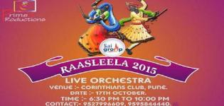 Prime 9 Production Presents Raasleela 2015 at Corinthians Club in Pune