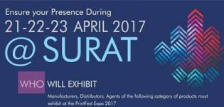 Print Fest Expo 2017 in Surat at SIECC - Print Exhibition Surat Date and Venue Details