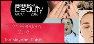 Professional Beauty GCC Exhibition in Dubai at Meydan Racecourse from 1st & 2nd February 2016