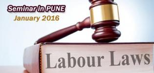 Program on Fundamentals of Labour Laws for Managers in PUNE  January 2016