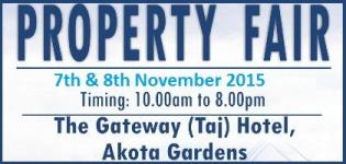 Property Fair 2015 in Vadodara - Vadodara Property Exhibition on 7th & 8th November 2015