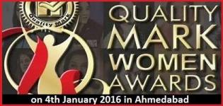 Quality Mark Women Awards in Ahmedabad at Rajpath Club on 24th January 2016