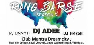 RANG BARSE Season 3 2018 in Vadodara - Biggest Holi Festival at Dreamcity near ITM Collage