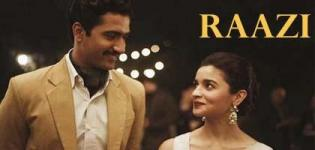 Raazi Indian Movie 2018 - Release Date and Star Cast Crew Details