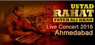 Rahat Fateh Ali Khan Live Concert 2016 in Ahmedabad at Adani Shantigram Cricket Ground