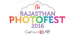 Rajasthan Photo Fest 2016 at Birla Auditorium Jaipur from 14th to 16th October