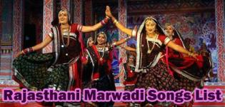 Rajasthani Song List - All Latest Marwadi Songs Videos
